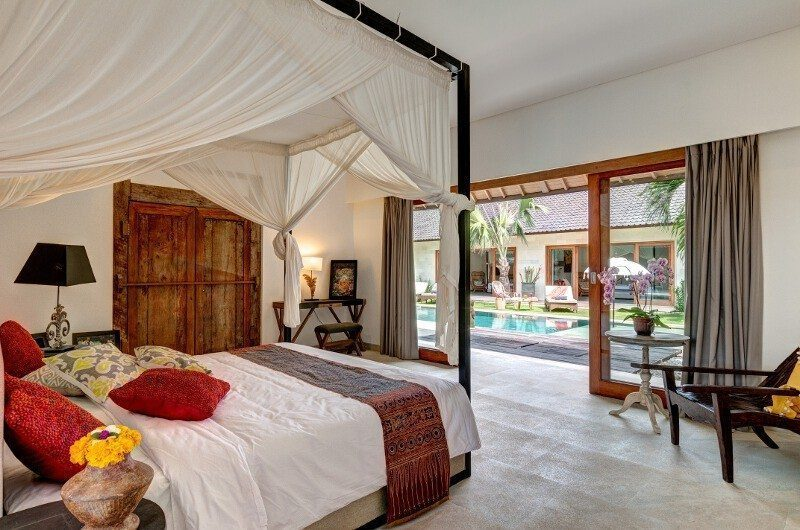 Abaca Villas Bedroom, Petitenget | 6 Bedroom Villas Bali