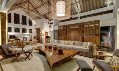 Abaca Villas Indoor Living Area, Petitenget | 6 Bedroom Villas Bali