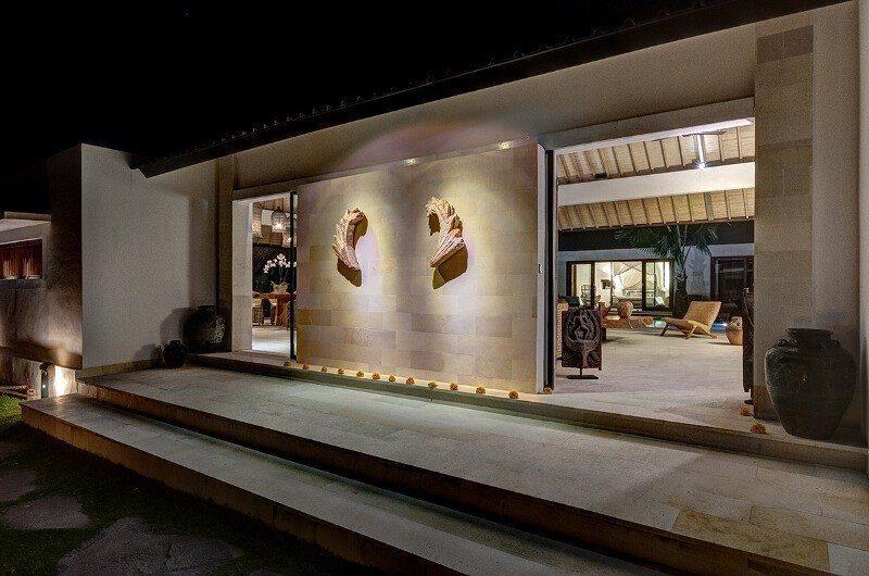 Abaca Villas Entrance, Petitenget | 6 Bedroom Villas Bali