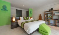 Casa Mateo Bedroom with Table Lamps, Seminyak | 6 Bedroom Villas Bali