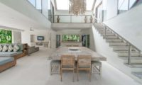 Casa Mateo Dining Area with Up Stairs, Seminyak | 6 Bedroom Villas Bali