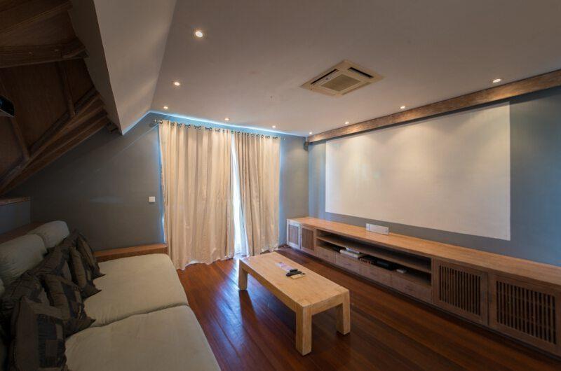 Casa Mateo Media Room, Seminyak | 6 Bedroom Villas Bali