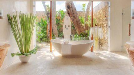 Lataliana Villas Semi Open Bathtub, Seminyak | 6 Bedroom Villas Bali