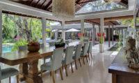 Lataliana Villas Pool Side Dining, Seminyak   6 Bedroom Villas Bali