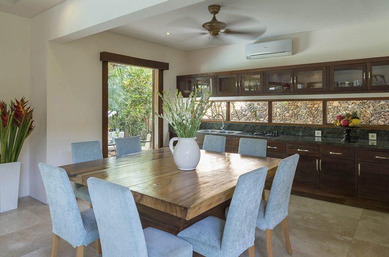 Lataliana Villas Kitchen and Dining Area, Seminyak | 6 Bedroom Villas Bali
