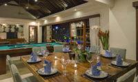 Lataliana Villas Dining Area, Seminyak   6 Bedroom Villas Bali