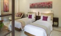 Lataliana Villas Twin Bedroom, Seminyak   6 Bedroom Villas Bali