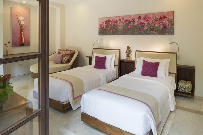 Lataliana Villas Twin Bedroom, Seminyak | 6 Bedroom Villas Bali
