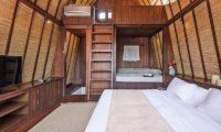 Lataliana Villas Bedroom with TV, Seminyak   6 Bedroom Villas Bali