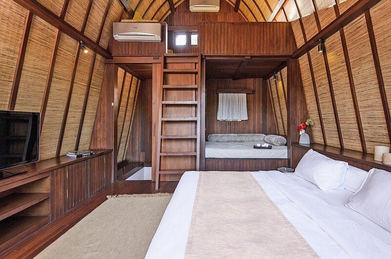 Lataliana Villas Bedroom with TV, Seminyak | 6 Bedroom Villas Bali
