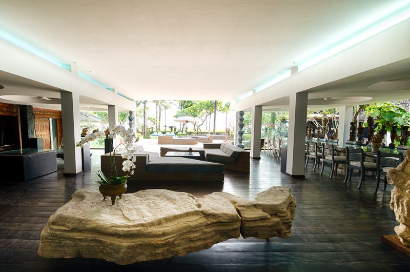 Morabito Art Villa Living and Dining Area, Canggu | 6 Bedroom Villas Bali