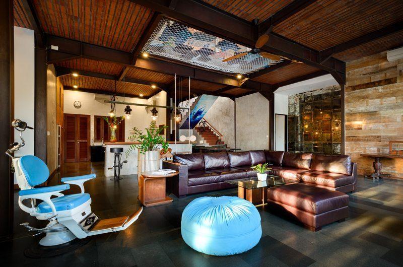 Niconico Mansion Living Area, Petitenget   6 Bedroom Villas Bali