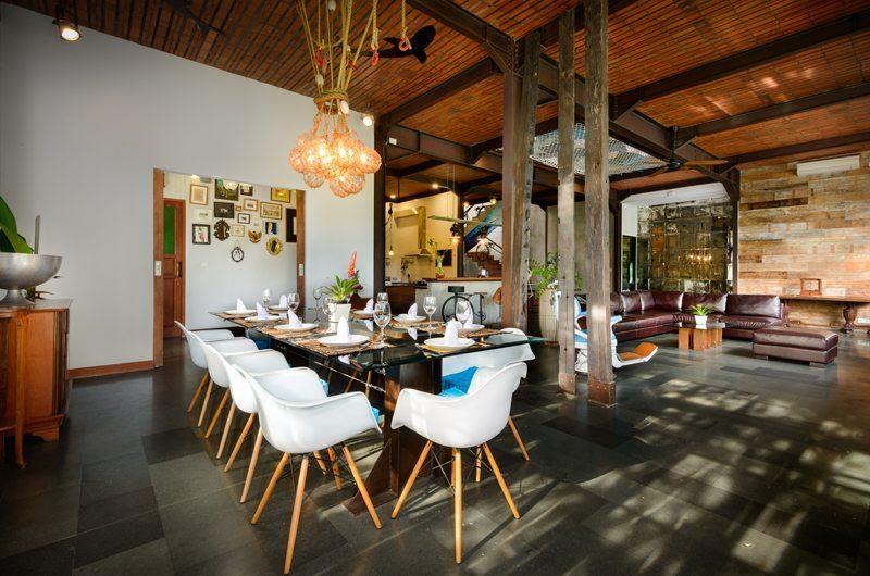Niconico Mansion Dining Area, Petitenget   6 Bedroom Villas Bali