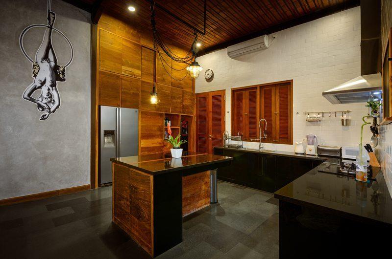 Niconico Mansion Kitchen Area, Petitenget   6 Bedroom Villas Bali