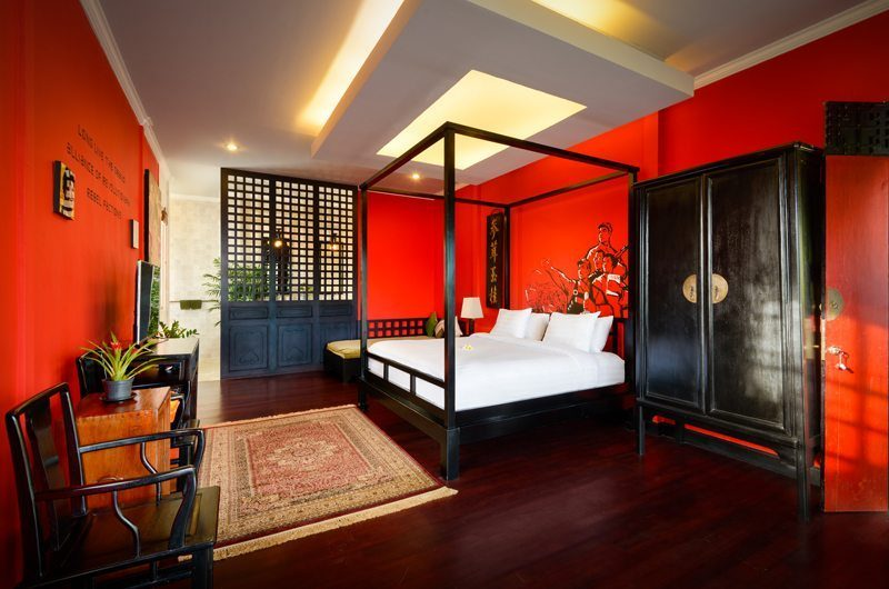 Niconico Mansion Bedroom with Wooden Floor, Petitenget   6 Bedroom Villas Bali