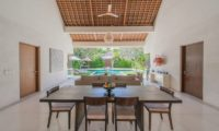 Nyaman Villas Indoor Living and Dining Area, Seminyak | 6 Bedroom Villas Bali