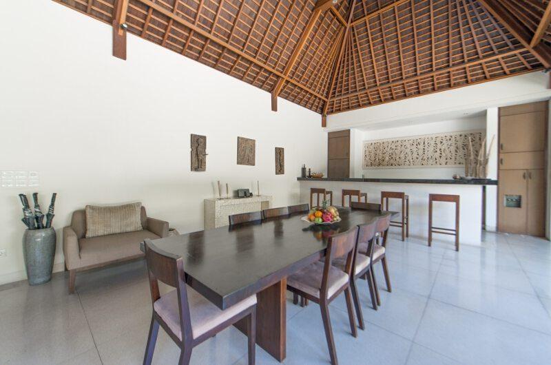 Nyaman Villas Dining Area, Seminyak | 6 Bedroom Villas Bali