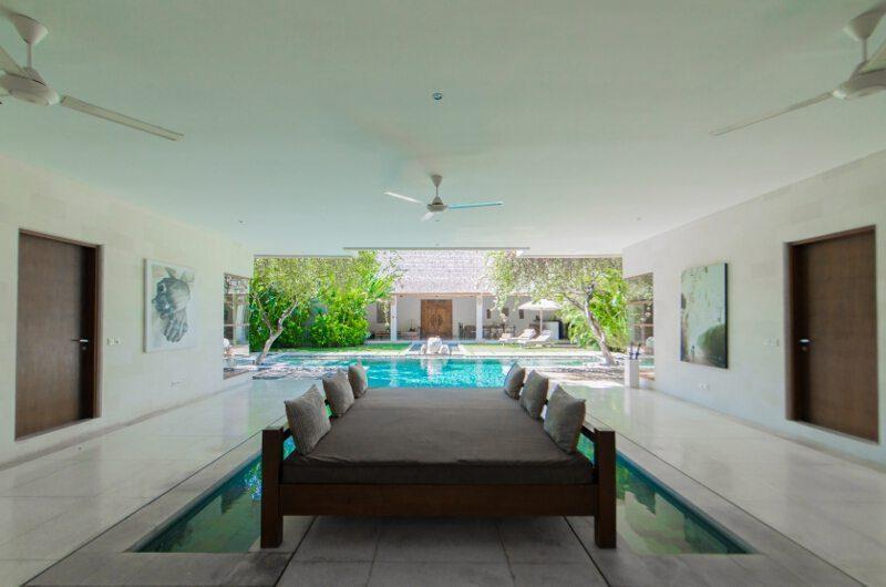 Nyaman Villas Pool Side Lounge Area, Seminyak | 6 Bedroom Villas Bali