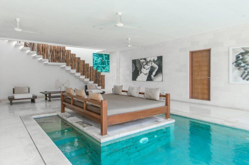 Nyaman Villas Pool Side Lounge, Seminyak | 6 Bedroom Villas Bali