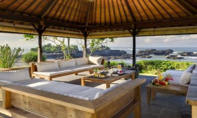 Impiana Cemagi Outdoor Seating Area with Sea View, Seseh | 6 Bedroom Villas Bali