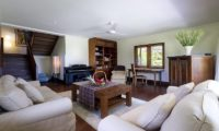 Impiana Cemagi Living Area with Up Stairs, Seseh | 6 Bedroom Villas Bali