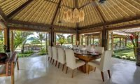 Impiana Cemagi Dining Area with Garden View, Seseh | 6 Bedroom Villas Bali
