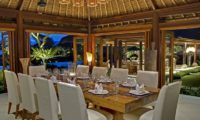 Impiana Cemagi Dining Area, Seseh | 6 Bedroom Villas Bali
