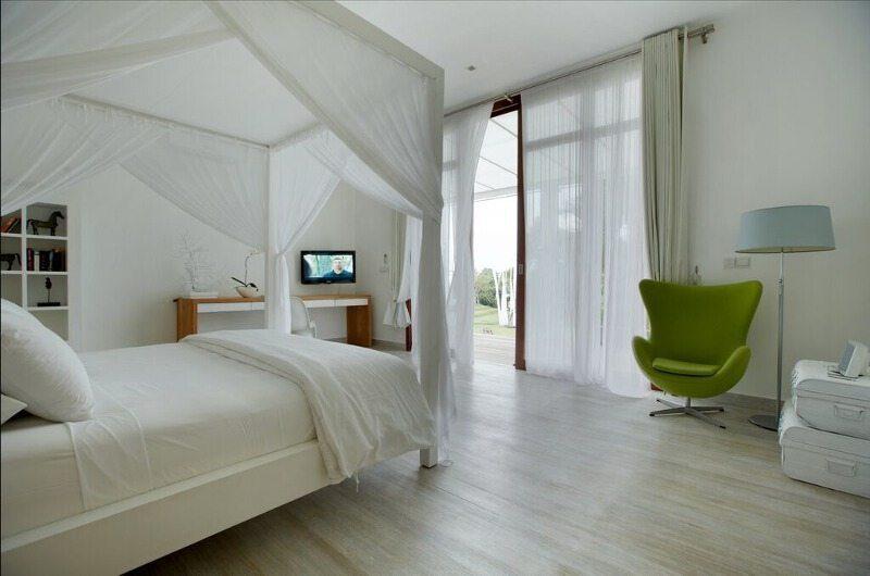 Pure Villa Bali Bedroom with Seating Area, Canggu | 6 Bedroom Villas Bali