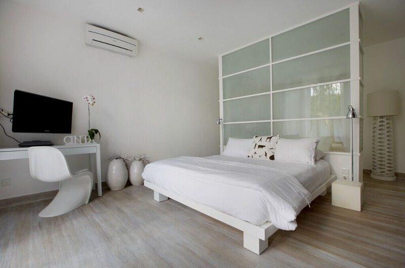 Pure Villa Bali Bedroom with TV, Canggu | 6 Bedroom Villas Bali