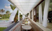 Pure Villa Bali Outdoor Seating Area, Canggu | 6 Bedroom Villas Bali