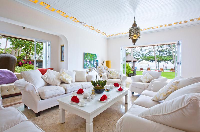 Puri Nirwana Living Area with Sea View, Gianyar | 6 Bedroom Villas Bali