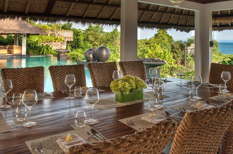 Seseh Beach Villas Pool Side Dining, Seseh | 6 Bedroom Villas Bali