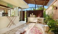 The Bli Bli Villas Semi Open Bathtub, Seminyak | 6 Bedroom Villas Bali