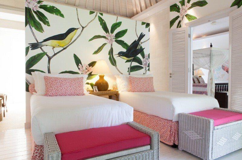 The Cotton House Twin Bedroom, Seminyak | 6 Bedroom Villas Bali