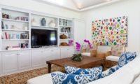 The Cotton House TV Room, Seminyak | 6 Bedroom Villas Bali