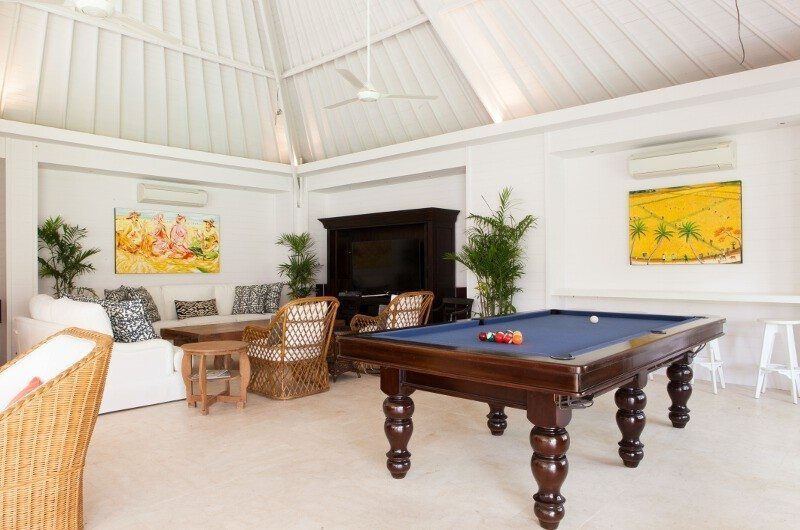 The Cotton House Billiard Table, Seminyak | 6 Bedroom Villas Bali