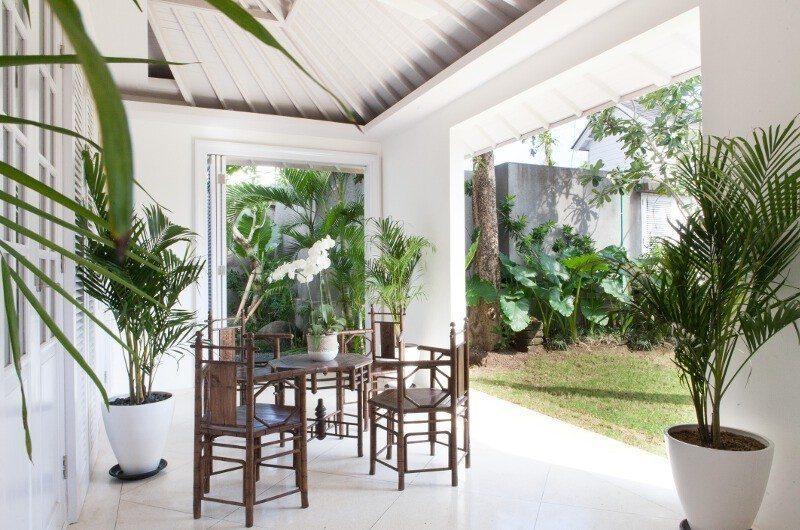 The Cotton House Outdoor Seating Area, Seminyak | 6 Bedroom Villas Bali