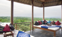 The Longhouse Lounge Area with View, Jimbaran | 6 Bedroom Villas Bali