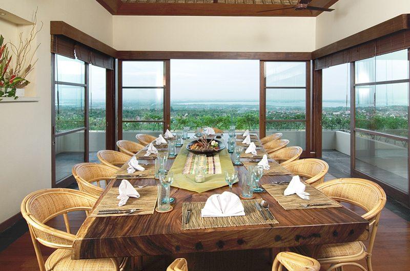 The Longhouse Dining Area with Sea View, Jimbaran | 6 Bedroom Villas Bali
