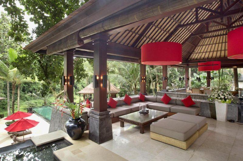 The Sanctuary Bali Living Area, Canggu | 6 Bedroom Villas Bali