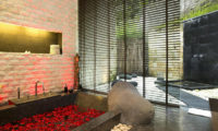 The Sanctuary Bali Semi Open Bathroom with Bathtub, Canggu | 6 Bedroom Villas Bali