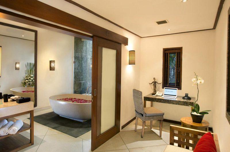 The Sanctuary Bali Bathtub with Rose Petals, Canggu | 6 Bedroom Villas Bali