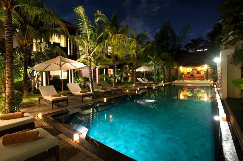 Villa Abakoi Night View, Seminyak | 6 Bedroom Villas Bali