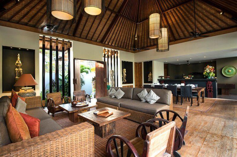 Villa Abakoi Living Area, Seminyak   6 Bedroom Villas Bali