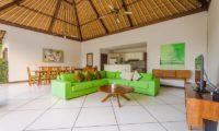 Villa Alore Living Area with TV, Seminyak | 6 Bedroom Villas Bali