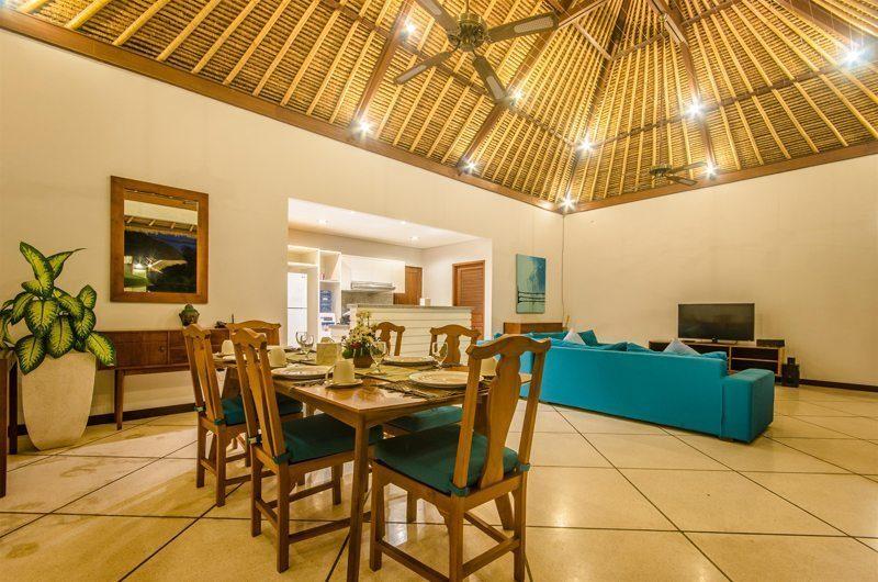 Villa Alore Living and Dining Area, Seminyak | 6 Bedroom Villas Bali