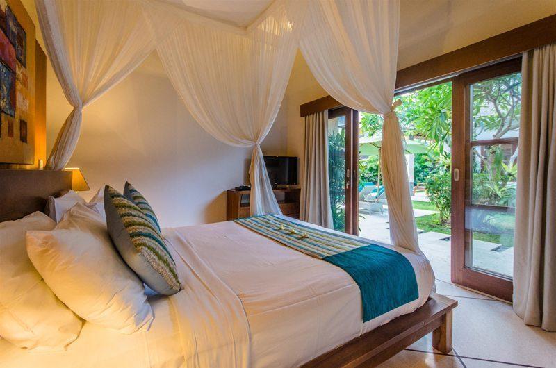 Villa Alore Bedroom with Garden View, Seminyak | 6 Bedroom Villas Bali