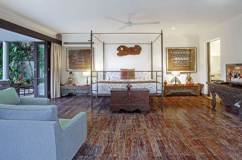 Villa Avalon Bali Four Poster Bed with Wooden Floor, Canggu | 6 Bedroom Villas Bali