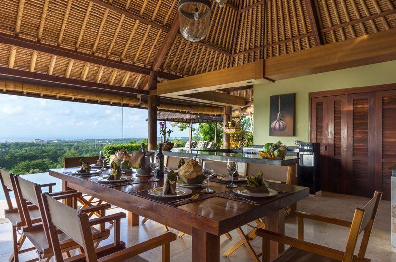 Villa Bayu Dining Area, Uluwatu | 6 Bedroom Villas Bali