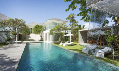 Villa Canggu Pool with Water Features, Canggu | 6 Bedroom Villas Bali